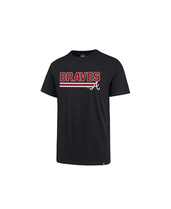 '47 Brand - Men's Atlanta Braves Line Drive T-Shirt