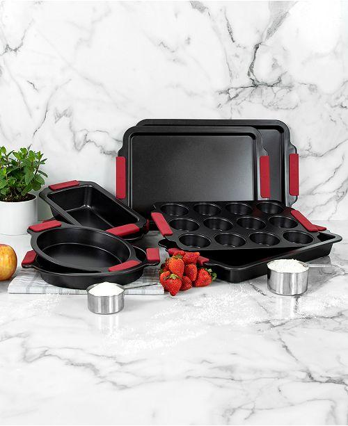Hell S Kitchen 8 Pc Nonstick Bakeware Set Reviews Bakeware Kitchen Macy S