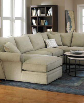 Doss Sofa Doss Fabric Microfiber Sectional Sofa 2 Piece