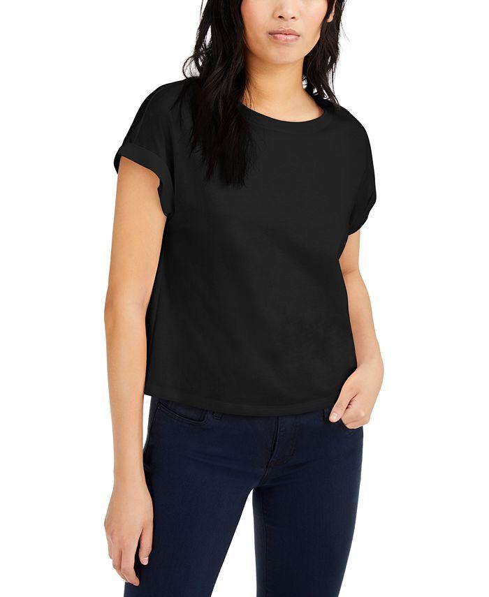 INC International Concepts - Boxy Crewneck T-Shirt