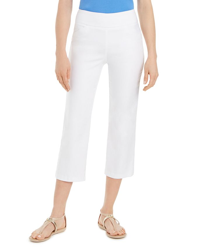 Charter Club - Pull-On Crop Pants
