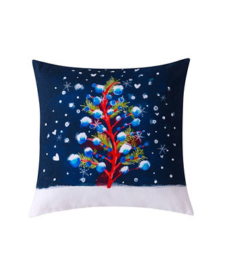 Sara B Christmas Tree Decorative Pillow 20 X 20 Reviews Decorative Throw Pillows Bed Bath Macy S
