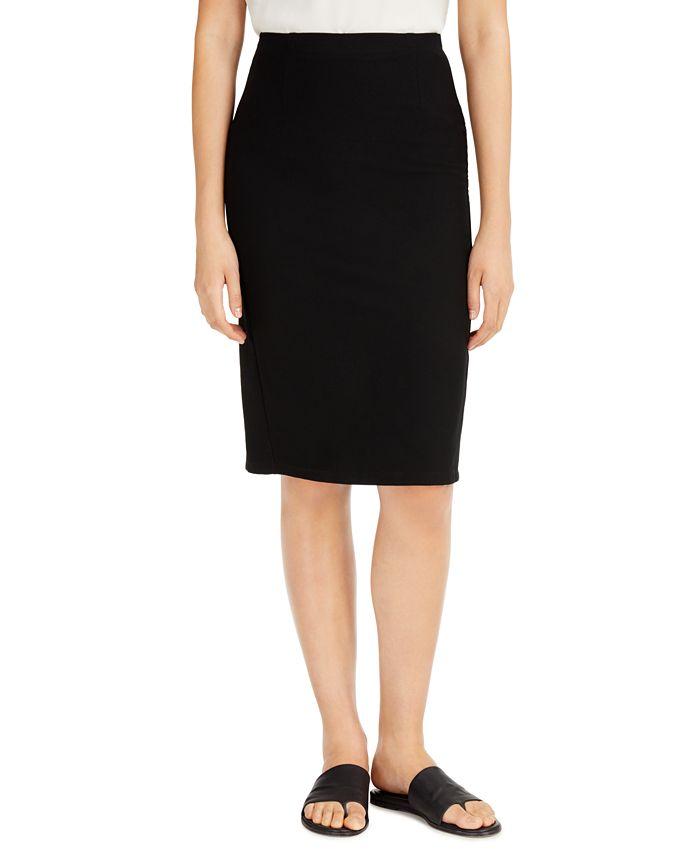 Eileen Fisher - High-Waist Pencil Skirt