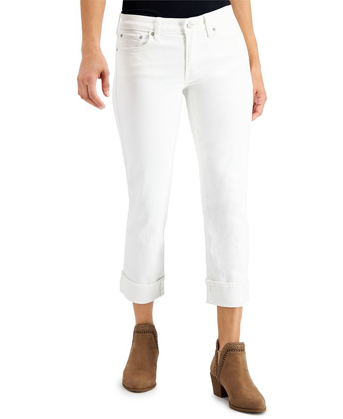 Lucky Brand - Sweet Crop Cuffed Jeans