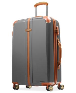 "hartmann herringbone 26"" hardside spinner suitcase"