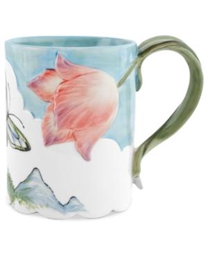 fitz and floyd dinnerware, flourish mug