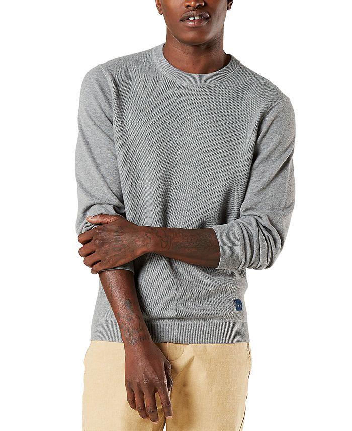 Dockers - Men's Regular-Fit Textured Sweater