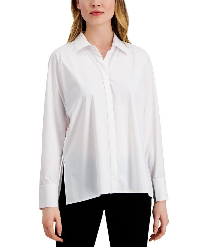 Alfani - Side-Slit Shirt
