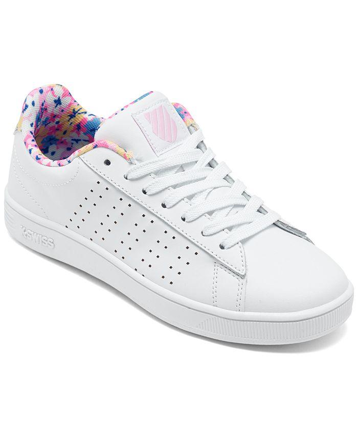 K-Swiss - Big Girls Court Casper Casual Sneakers from Finish Line