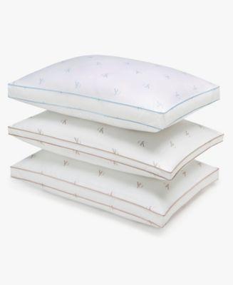 Calvin Klein Monogram Logo Cotton Pillows  (bonus with purchase available)
