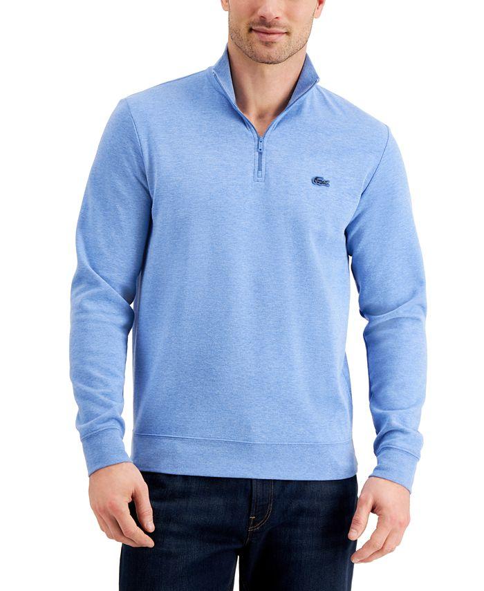 Lacoste - Men's Quarter-Zip Sweater