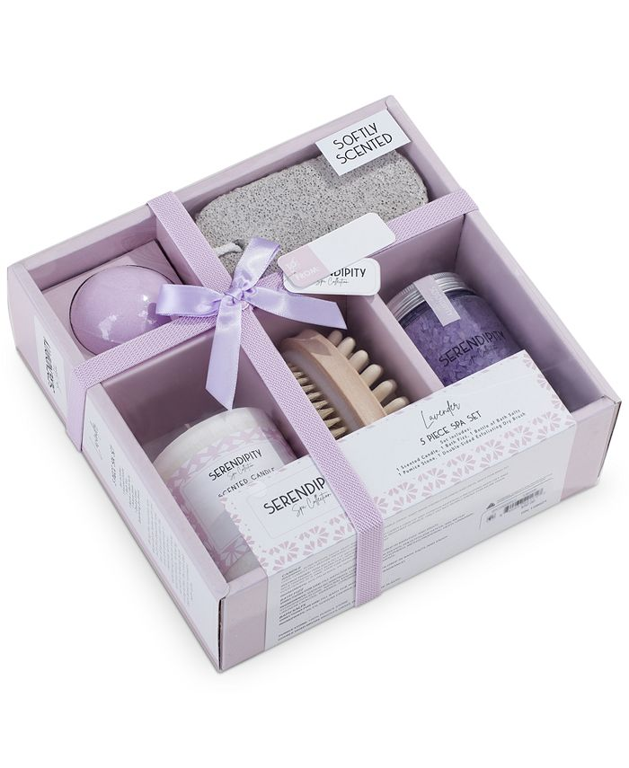 Indecor Home - 5-Pc. Spa Gift Set