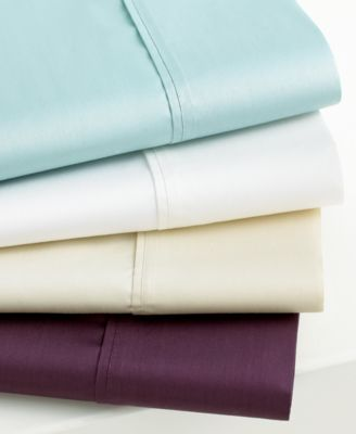 Martha Stewart Collection 450 Thread Count Standard Pillowcase Pair