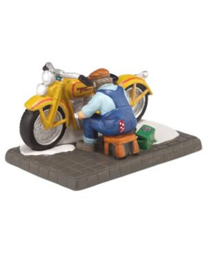 Department 56 Christmas in the City Harley The Perfect Exhaust Note Collectible Figurine