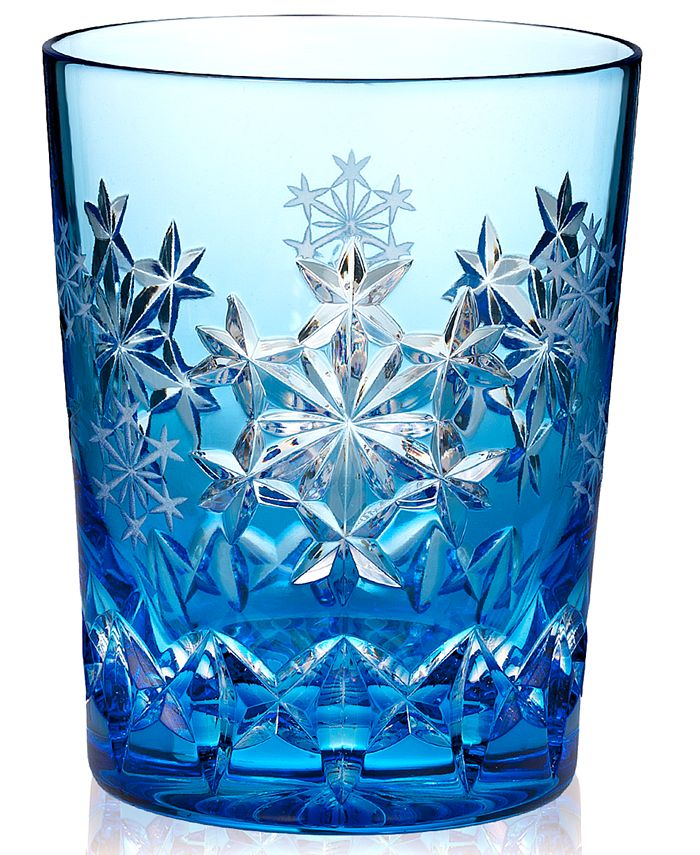 Waterford - Drinkware, 2013 Snowflake Wishes for Goodwill Prestige Double Old Fashioned Glass