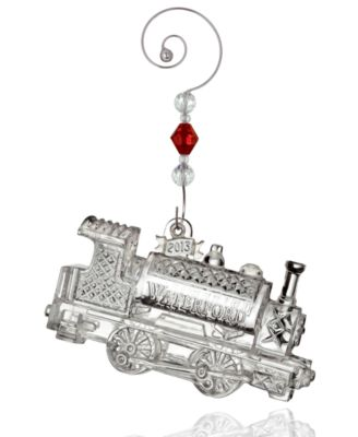 Waterford Christmas Ornament, 2013 Annual Train Engine