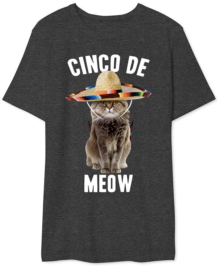 Hybrid - Men's Cinco De Meow Graphic T-Shirt