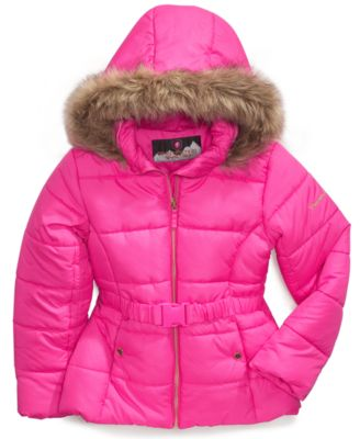 Protection System Kids Coat, Little Girls Puffer Jacket - Kids ...