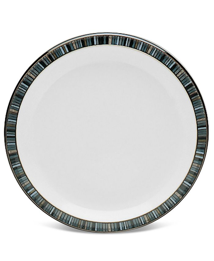 """Denby - """"Jet Stripes"""" Salad Plate"""