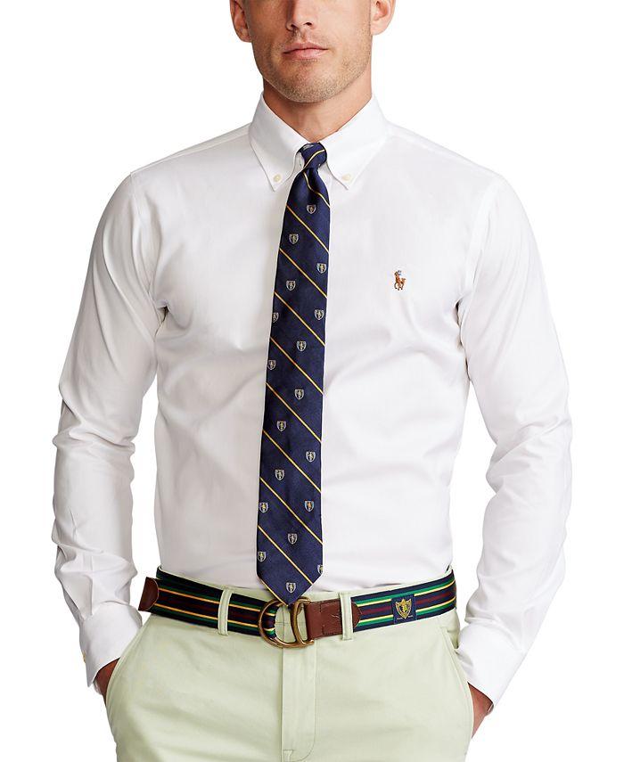 Men's Estate Classic/Regular Fit Pinpoint Oxford Dress Shirt