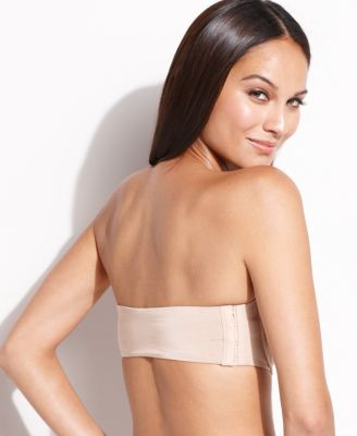 Star Power by SPANX Show Girls Laced Up Smoothing Strapless Bra ...