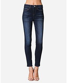 FLYING MONKEY High Rise Skinny Ankle Jeans