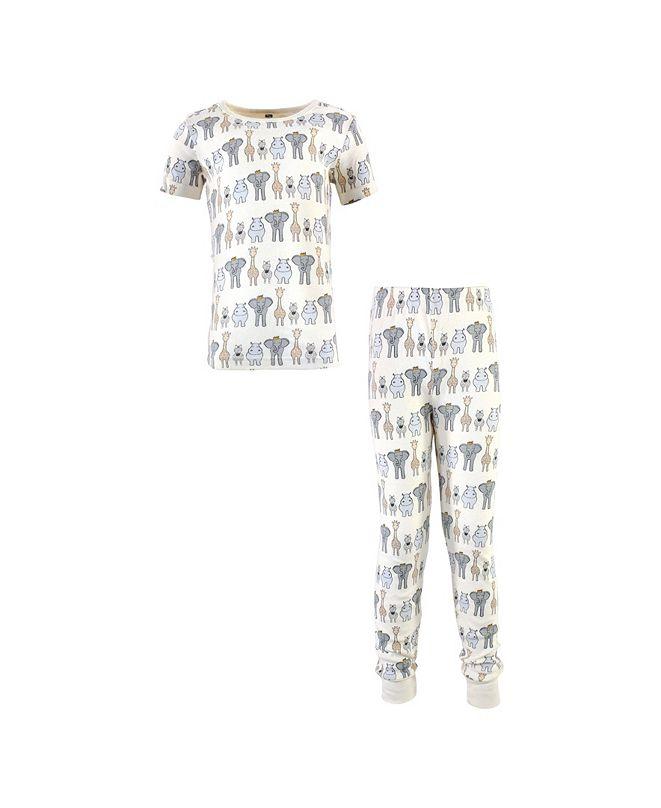 Hudson Baby Boys and Girls Pajama Set