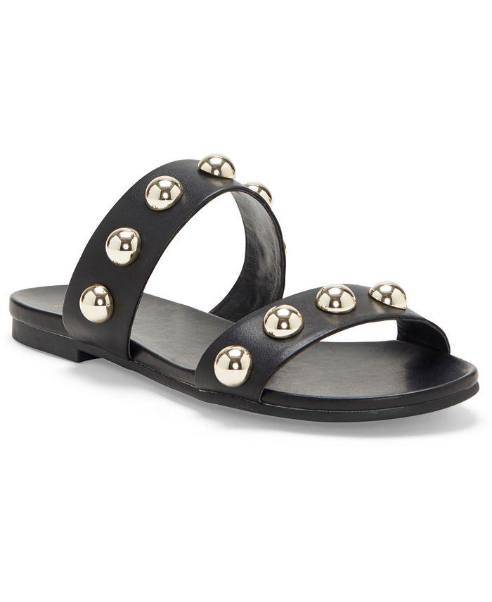 INC International Concepts - Women's Galli Ball-Stud Slide Sandals