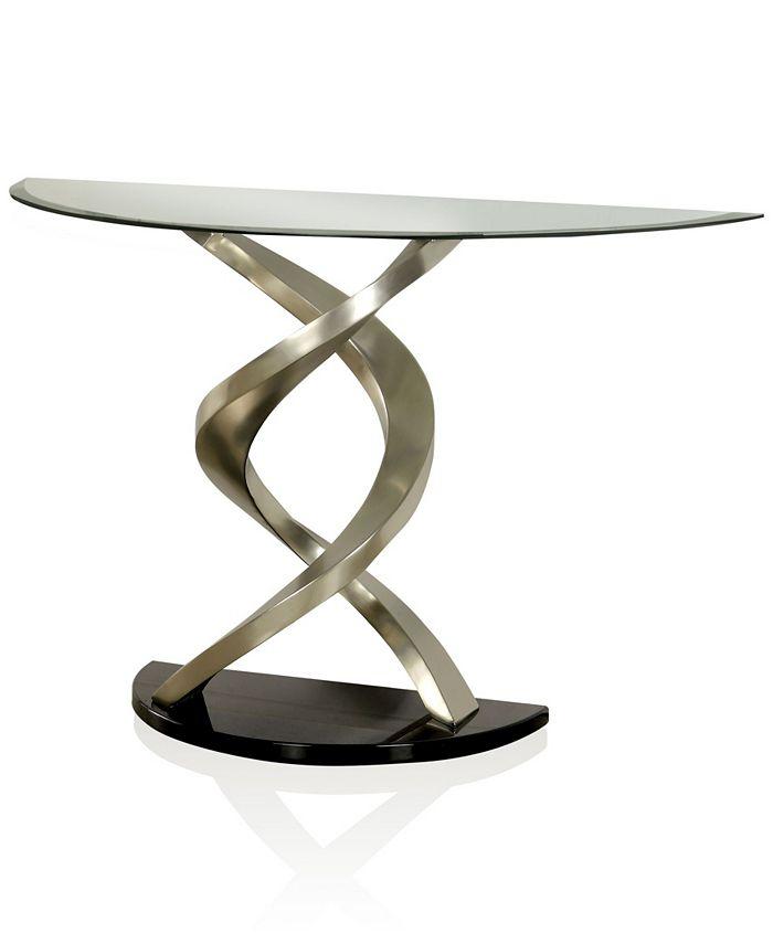 Furniture of America - Marisa Console Table, Quick Ship