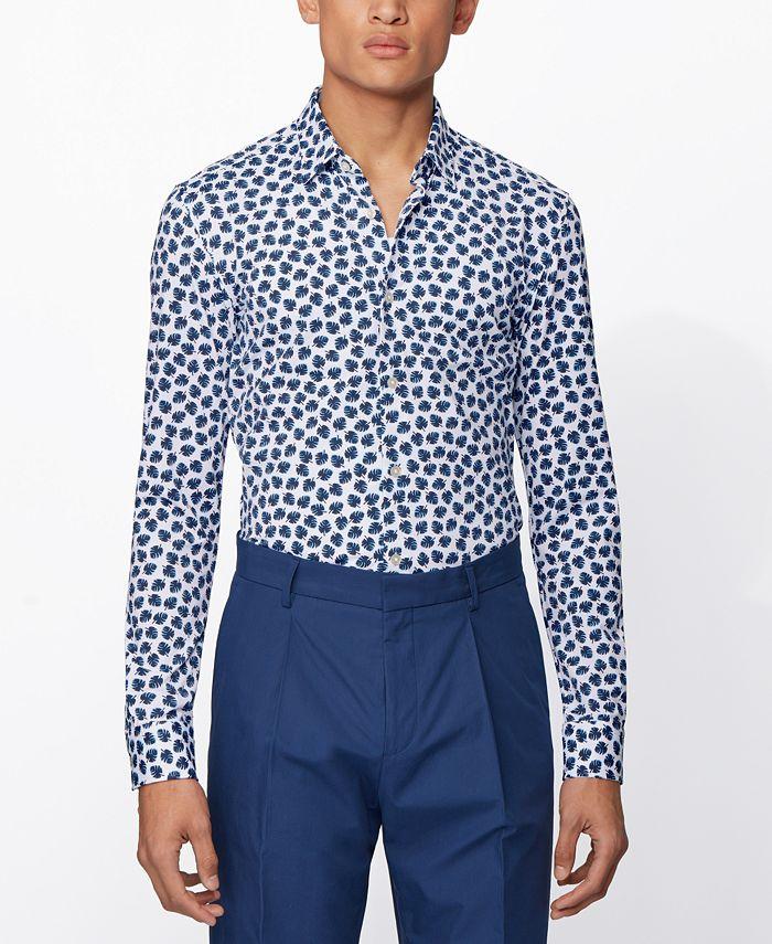 Hugo Boss - Men's Ronni_F Dark Blue Shirt