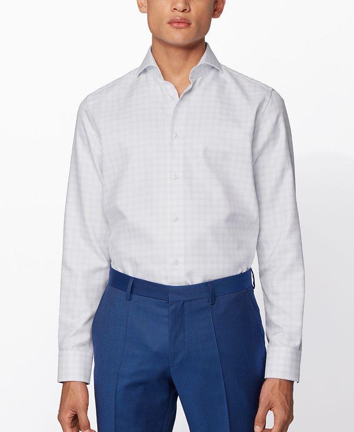 Hugo Boss - Men's T-Sam Light Pastel Blue Shirt