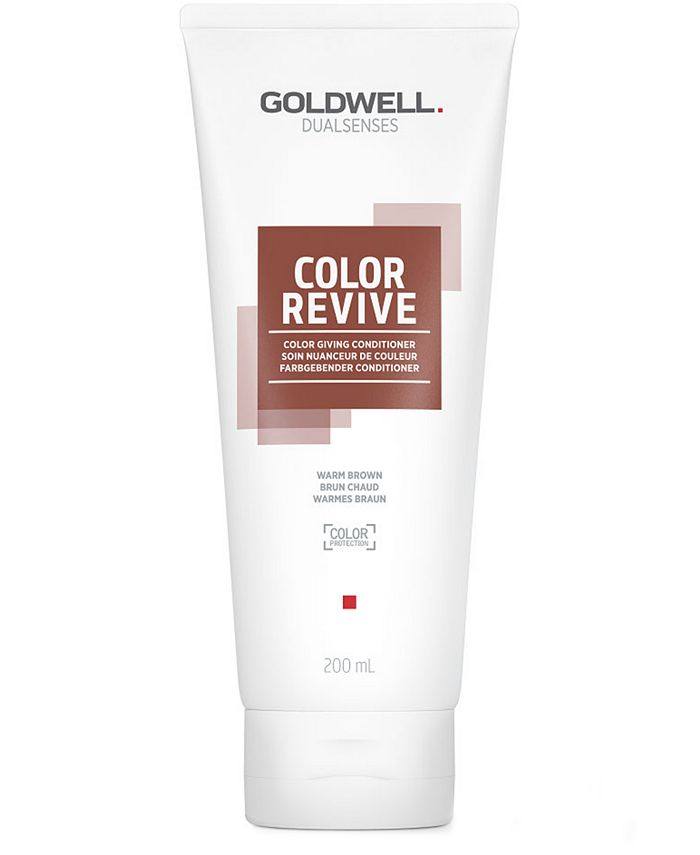 Goldwell - Dualsenses Color Revive Conditioner - Warm Brown, 6.7-oz.