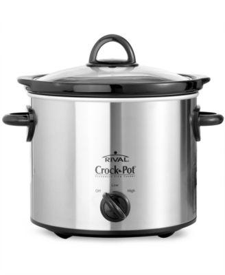 Crock-Pot 3040BC Slow Cooker, 4 Qt. Chrome