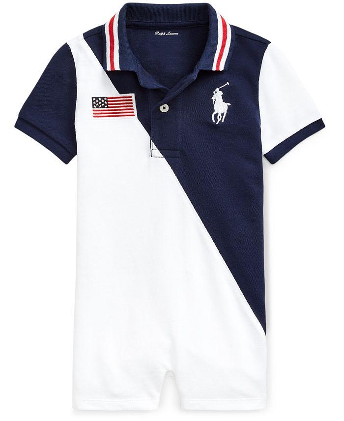 Polo Ralph Lauren - Baby Boys Cotton Polo Shortalls