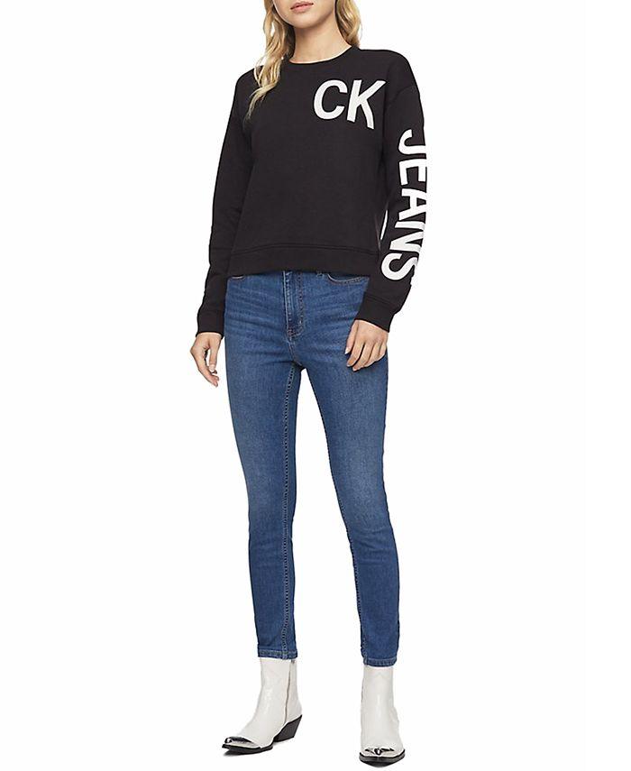 Calvin Klein Jeans - High-Rise Slim Ankle Jeggings