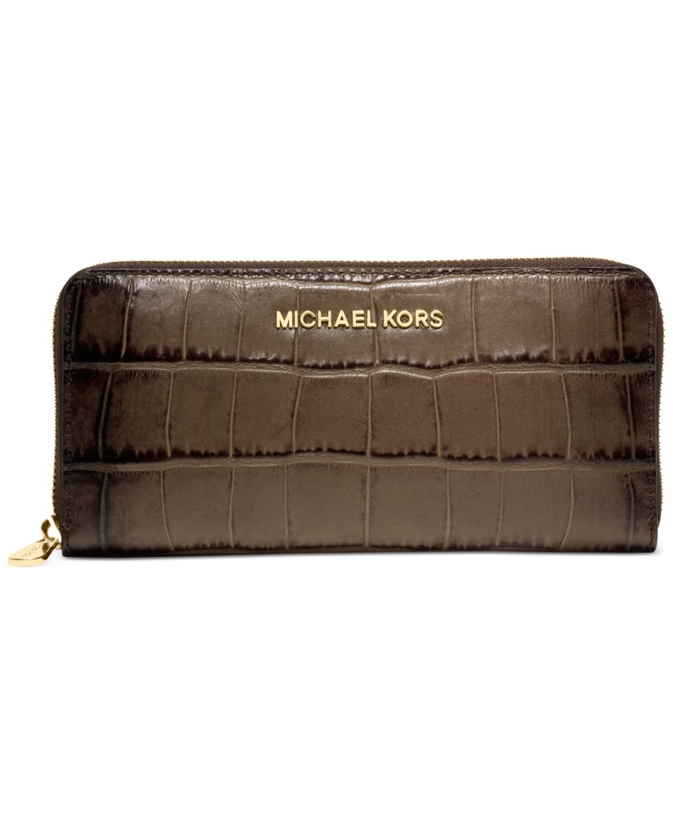 92c47a91bdc8b MICHAEL Michael Kors Jet Set Zip Around Continental Wallet Handbags    Accessories