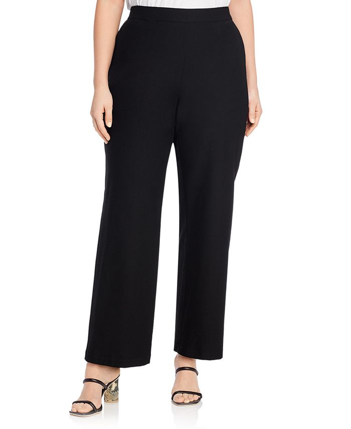 Eileen Fisher - System Stretch Crepe Straight Pants