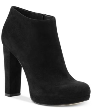 Michael Michael Kors Haven High Heel Booties Womens Shoes