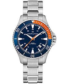 Hamilton Men's Swiss Automatic Scuba Stainless Steel Bracelet Watch 40mm