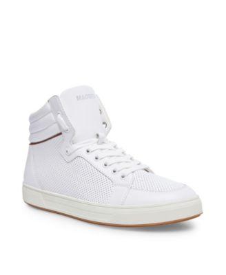 steve madden white mens shoes