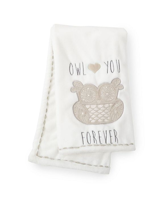 Levtex Baby Night Owl Crib Blanket