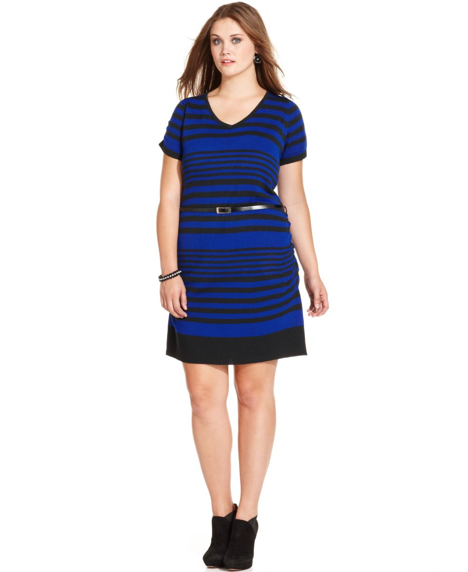 Jessica Howard Plus Size Flutter Sleeve Tiered Sheath   Dresses   Plus Sizes