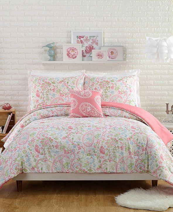 Jessica Simpson Avery 4 Piece Full/Queen Comforter Set