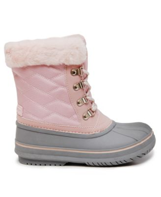 London Fog Little Girls Quilted Snow