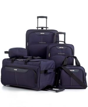 tag fairfield iii 5 piece luggage set