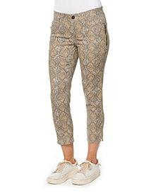 "Democracy Women's ""Ab"" Solution Side Zip Jeans"