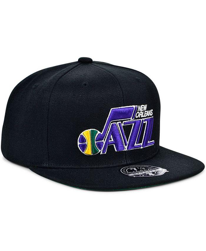 Mitchell & Ness - New Orleans Jazz Team Ground Fitted Cap