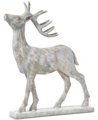 Birds & Boughs Deer Table Décor, Created for Macy's