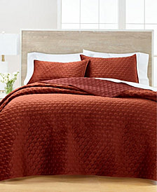 Feather Velvet Quilt and Sham Collection