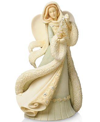 Foundations Collectible Figurine, Angel with Christmas ... Giorgio Armani Figurines